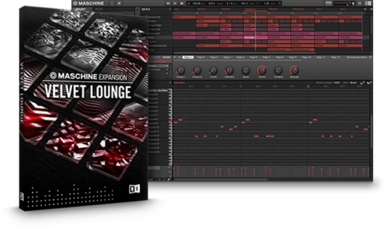 Native Instruments Maschine Expansion Velvet Lounge