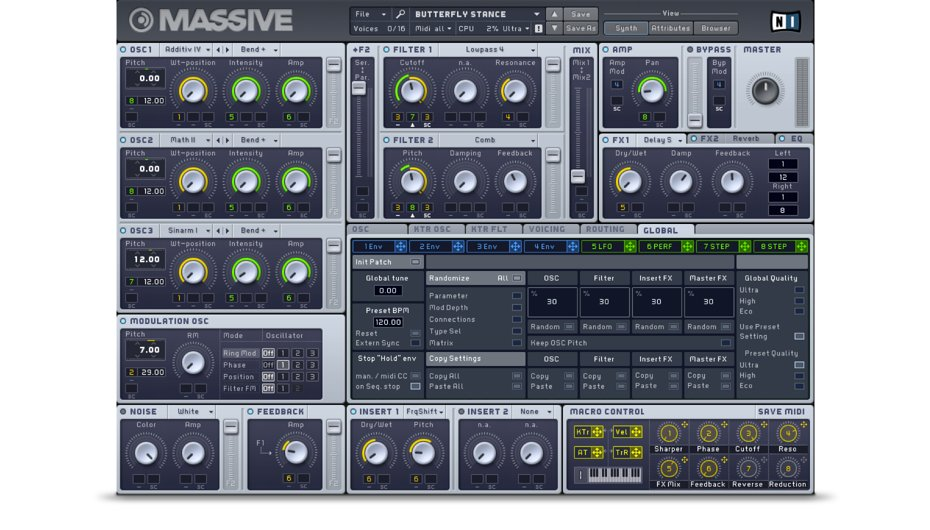Native Instruments Massive v1.5.1 WiN/MAC Update