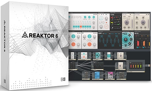 Native Instruments Reaktor 6 OSX-PiTcHsHiFTeR