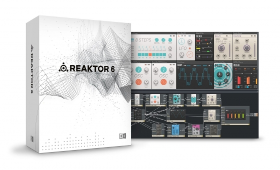 Native Instruments Reaktor 6 v6.0.1 UNLOCKED MAC Update