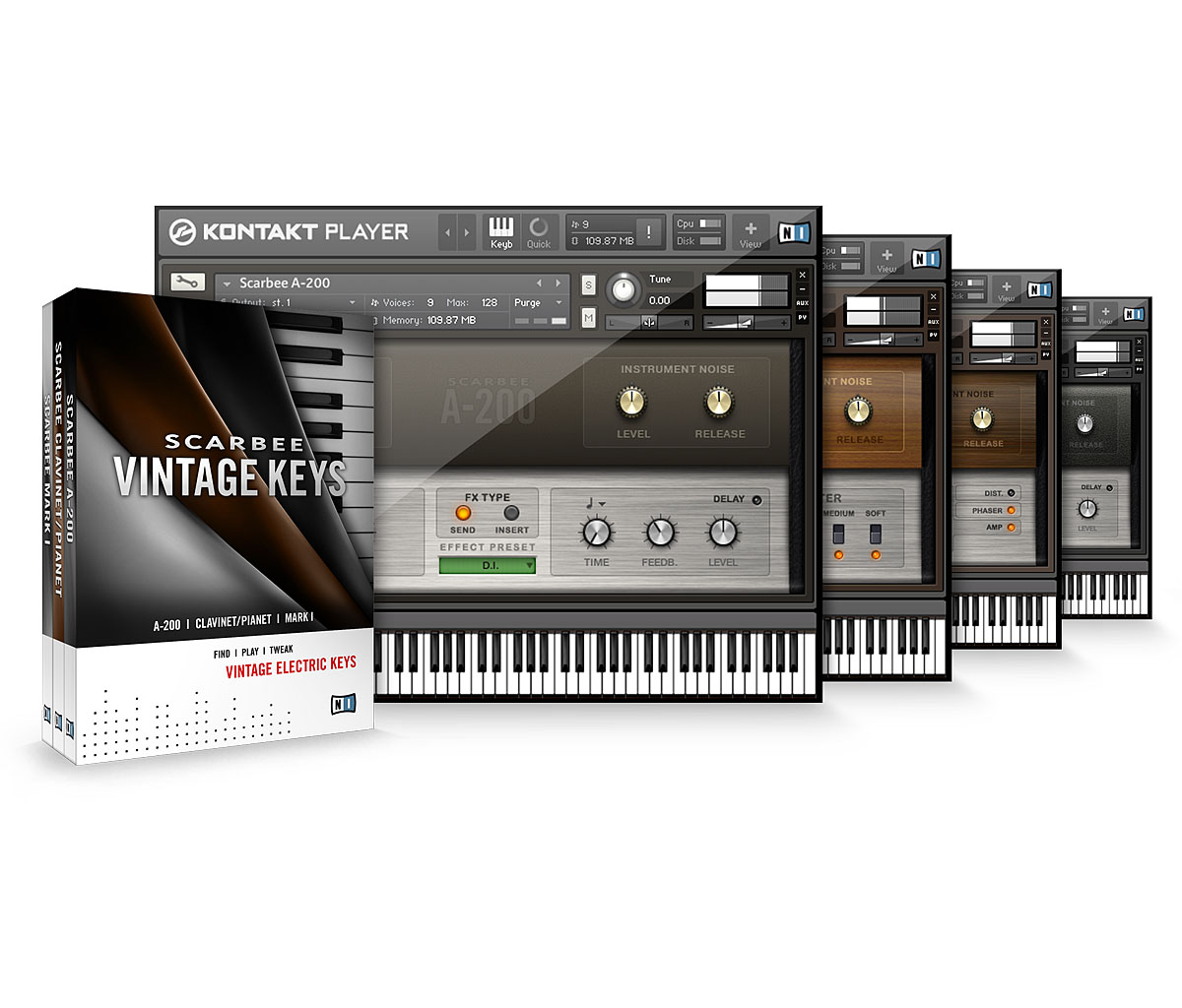 Native Instruments Scarbee Vintage Keys 1.3 WiN/MAC