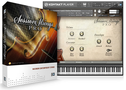Native Instruments Session Strings Pro v1.4 KONTAKT UPDATE