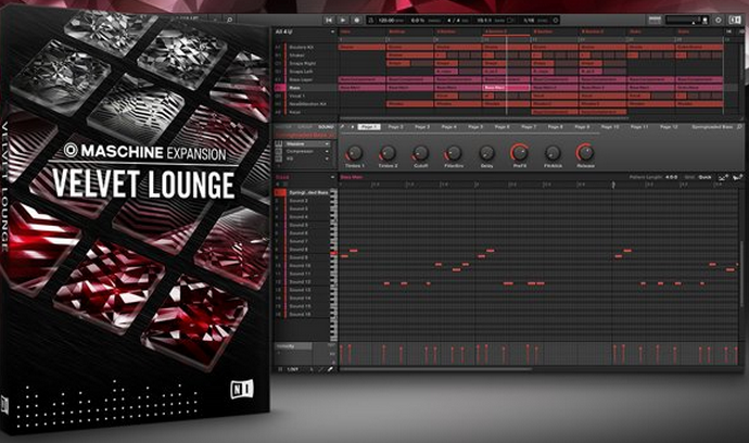 Native Instruments Velvet Lounge Maschine Expansion