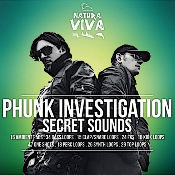 Natura Viva Phunk Investigation Secret Sounds WAV-AUDIOSTRiKE
