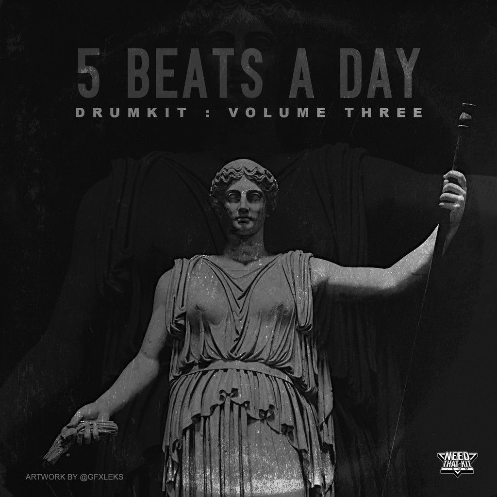 Needthatkit.com Canary Julz Exclusive 5 Beats A Day DrumKit Vol.3 WAV