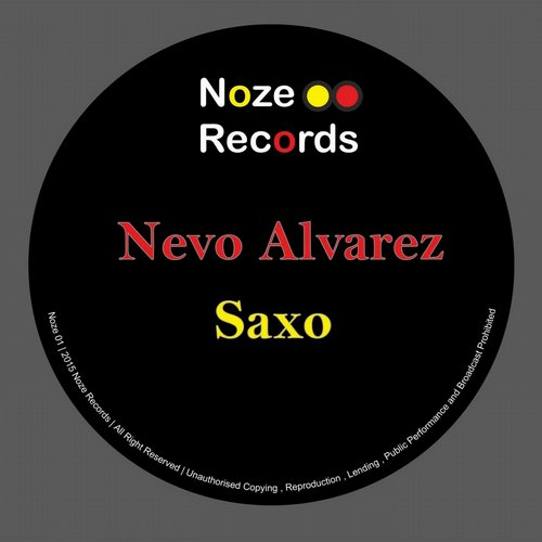 Nevo Alvarez - Saxo - Single [NR001]