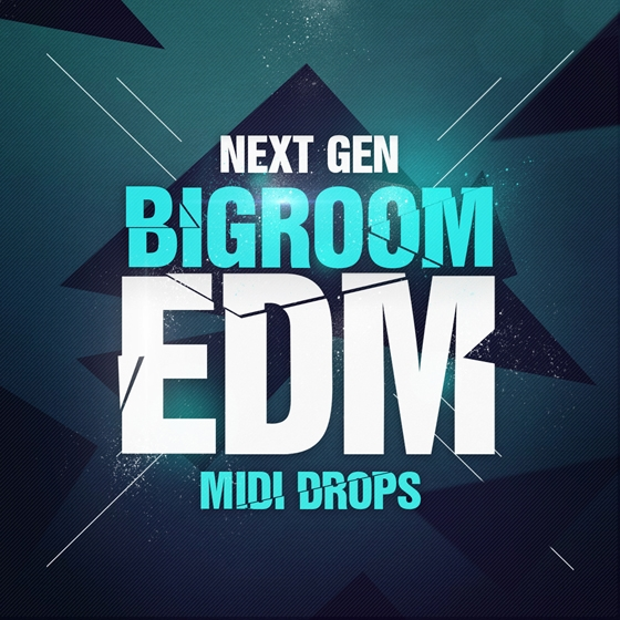 Next Generation Audio Next Gen Bigroom EDM Midi Drops WAV MiDi FXP