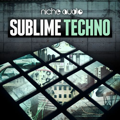 Niche Audio Sublime Techno NI Maschine Expansion WAV