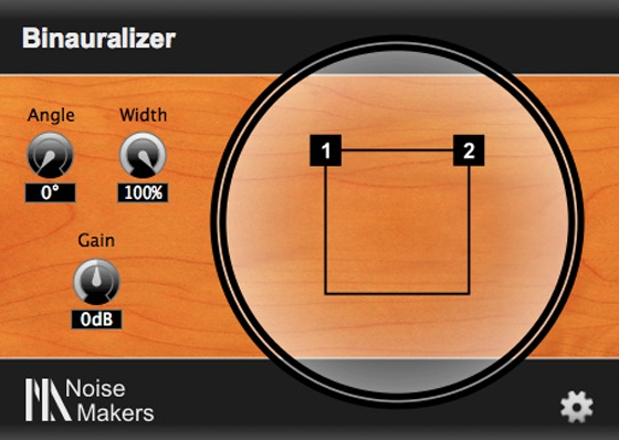 Noise Makers Binauralizer v1.1 WiN/MAC