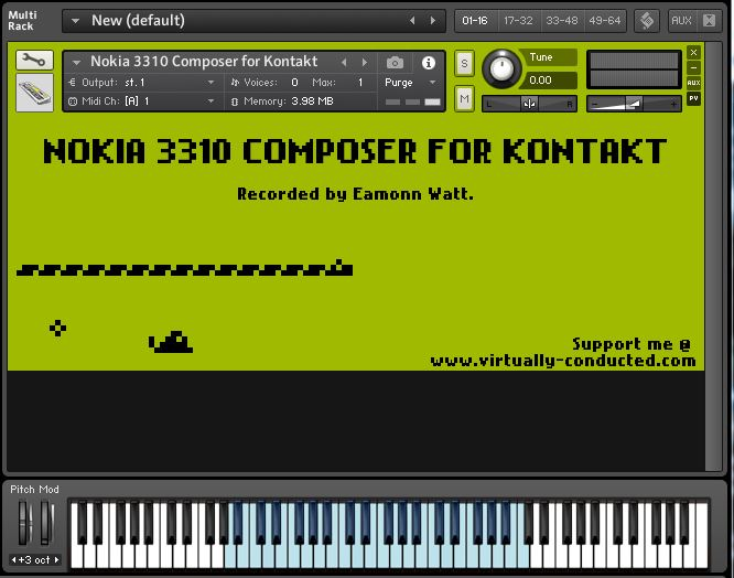 Nokia 3310 Composer for Kontakt V1