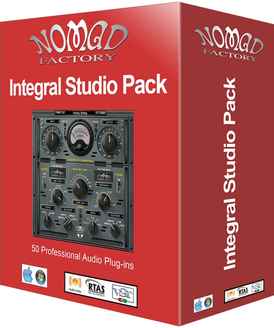 Nomad Factory Integral Studio Pack 3 v5.1.0.r3 WiN/OSX Incl Keygen-R2R