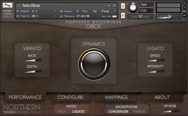Northern Scoring Tools Northern Woodwinds Solo Oboe KONTAKT