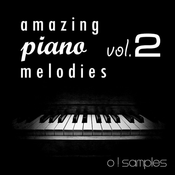 O Samples Amazing Piano Melodies Vol.2 WAV MiDi