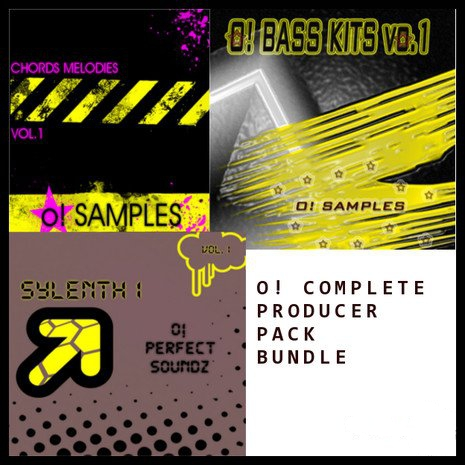 O! Samples O! Complete Producer Pack Bundle Vol.1 ACID WAV MiDi SYLENTH PRESETS-MAGNETRiXX