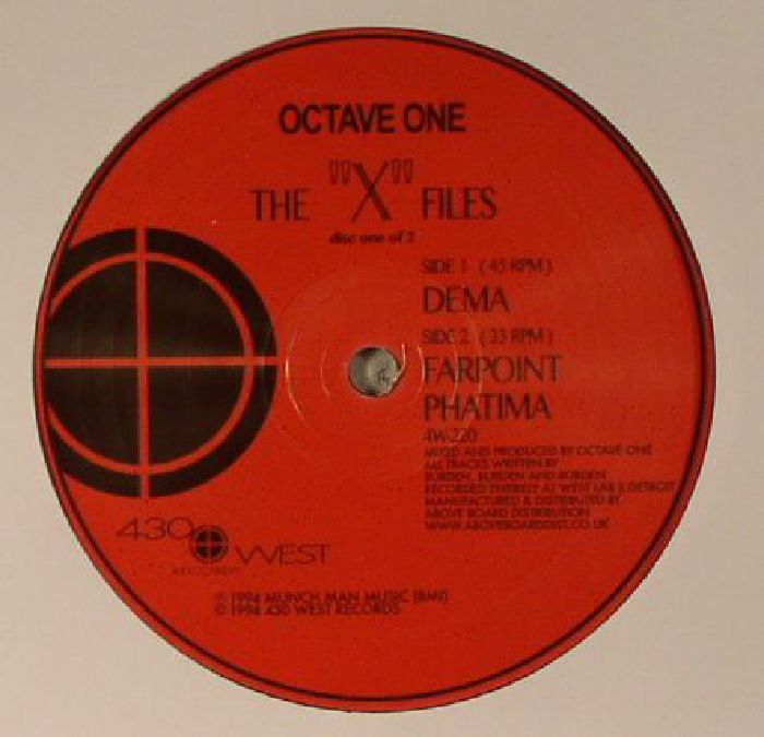 "Octave One – The ""X"" Files [4W220]"