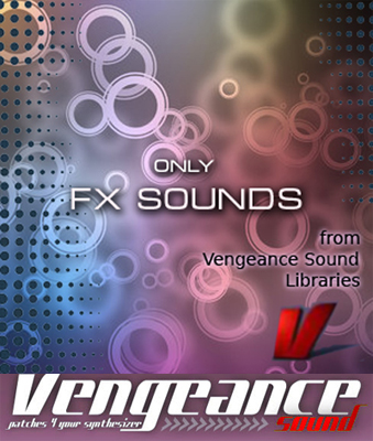 Only FX Sounds from Vengeance Sound Libraries WAV