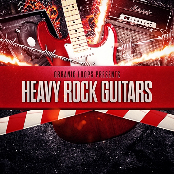 Organic Loops Heavy Rock Guitars WAV REX