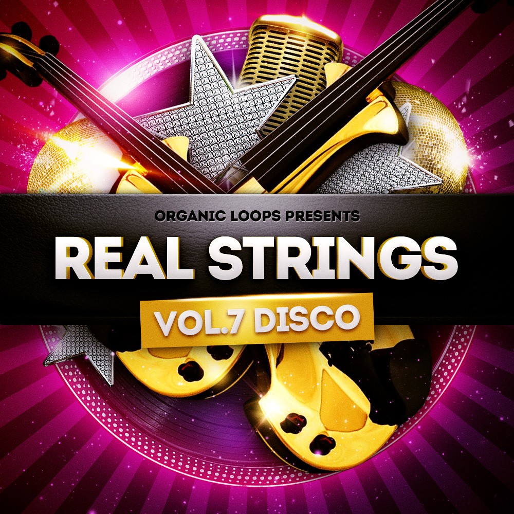 Organic Loops Real Strings Disco Strings Vol.2 WAV MiDi REX Sibelius