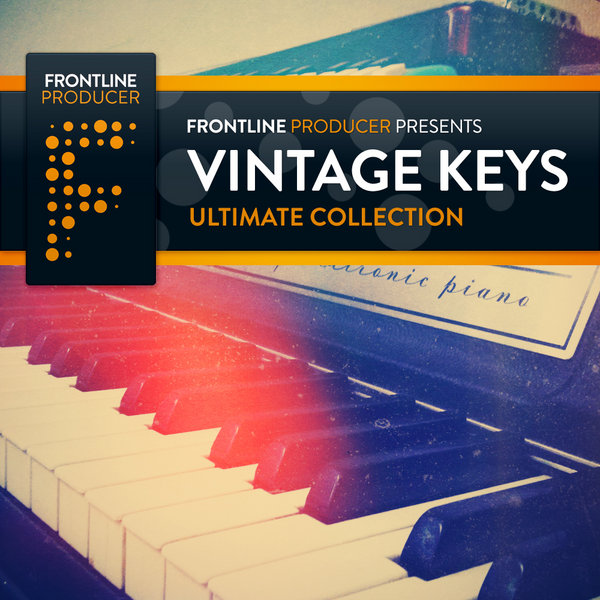 Organic Loops Vintage Keys Ultimate Collection ACID WAV REX2-MAGNETRiXX