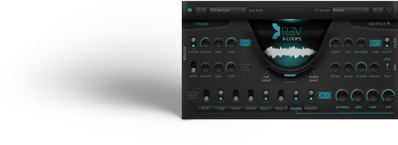 Output Sounds REV X-Loops KONTAKT