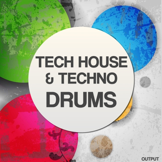 Output Tech House and Techno Drums WAV