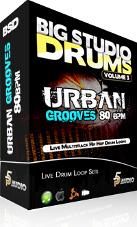 P5Audio Big Studio Drums Urban Grooves MULTiFORMAT DVDR-DYNAMiCS