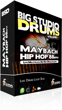 P5Audio Big Studio Drums Vol.1 Maybach Hip Hop MULTiFORMAT DVDR-DYNAMiCS