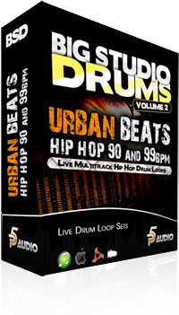 P5Audio Big Studio Drums Vol.2 Urban Beats Hip Hop MULTiFORMAT DVDR-DYNAMiCS