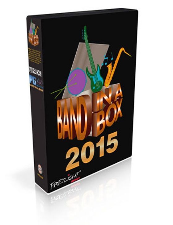 PG Music Band-in-a-Box 2015 for MAC