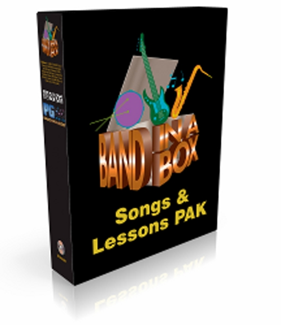 PG Music MIDI Songs and Lesson PAK for Band-in-a-Box® For WiN