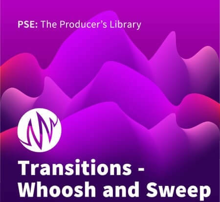 PSE: The Producers Library Transitions Whoosh and Sweep WAV