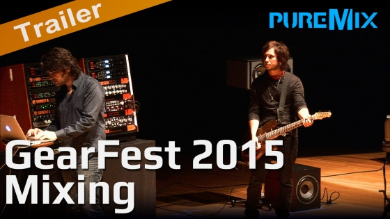 PUREMIX Gearfest 2015 Mixing a Rock Song TUTORiAL