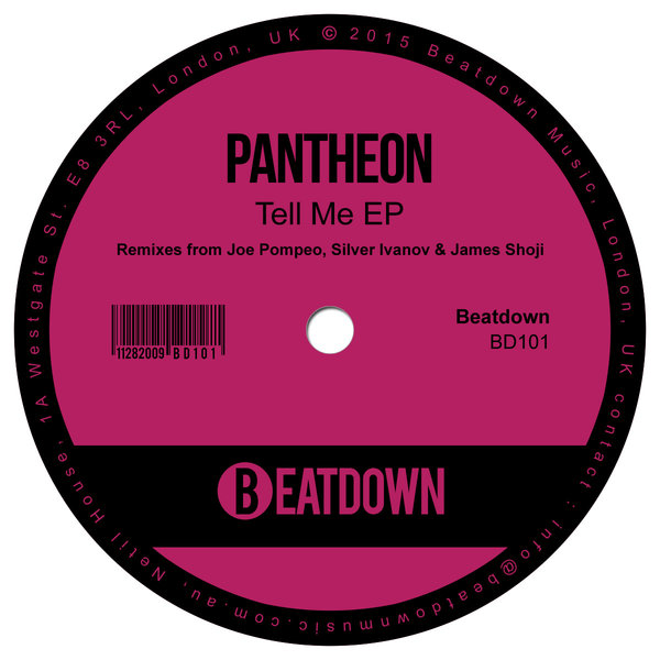 Pantheon, Moana - Tell Me EP (remixes From Joe Pompeo, Silver Ivanov & James Shoji)