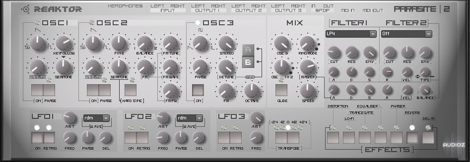 Parasite v2.0 for Reaktor