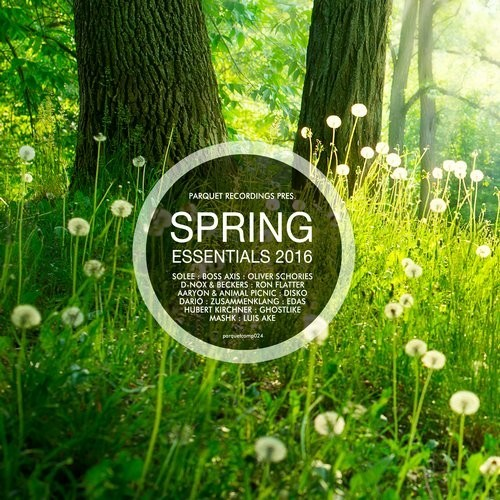 VA - Parquet Recordings Presents Spring Essentials 2016 [PARQUETCOMP024]