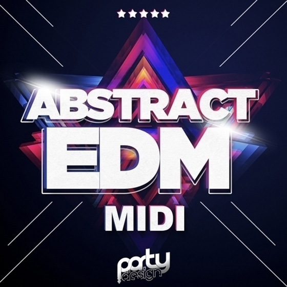 Party Design Abstract EDM Sounds Midi Loops MiDi FXP NMSV