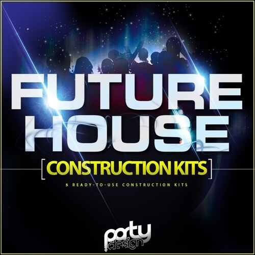 Party Design Future House Construction Kits 1