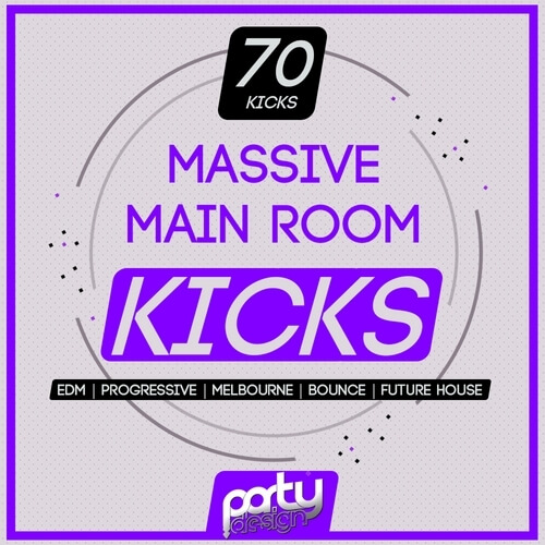 Party Design Massive Main Room Kicks Vol 1