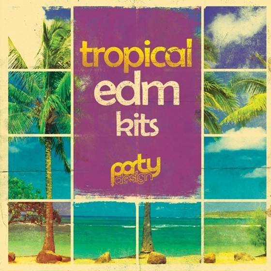 Party Design Tropical MIDI Loops Vol 1 MiDi