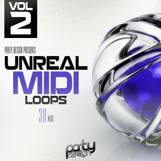 Party Design Unreal MIDI Loops 2 MiDi
