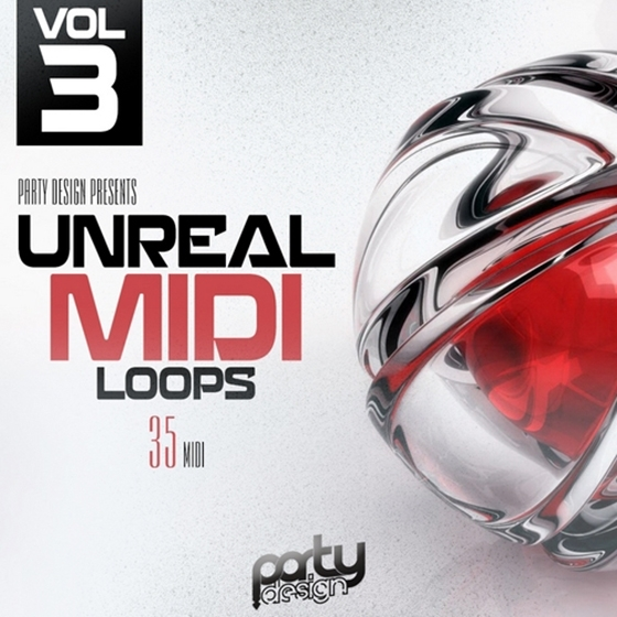 Party Design Unreal MIDI Loops 3 MiDi