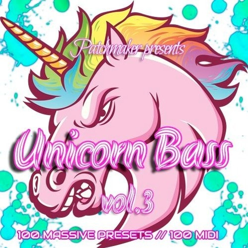 Patchmaker Unicorn Future Bass Vol 3 For NATiVE iNSTRUMENTS MASSiVE