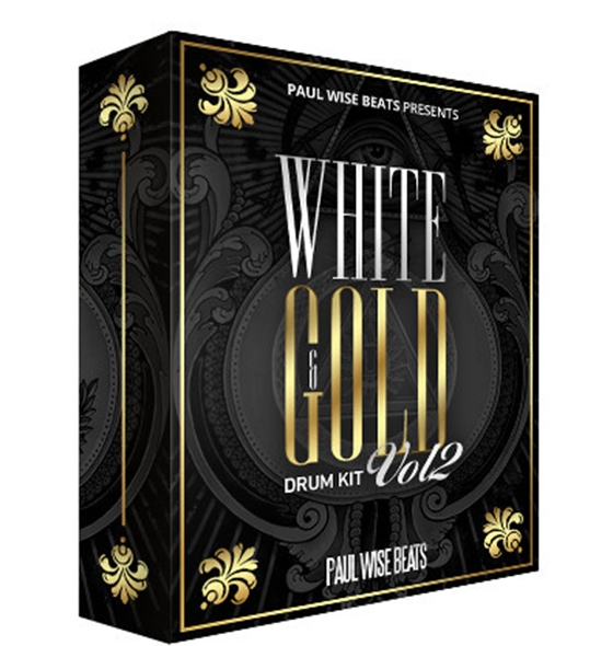 Paul Wise Beats White and Gold Drum Kit Vol.2 WAV