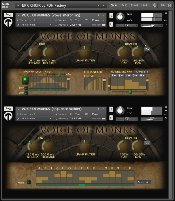 PdH Factory Voice of Monks KONTAKT