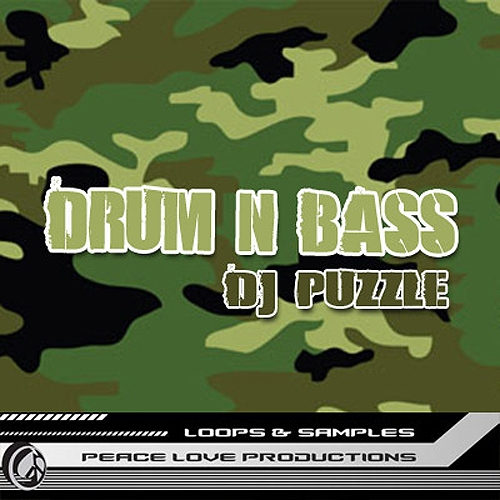 Peace Love Productions DJ Puzzle Drum n Bass AIFF REX-DISCOVER