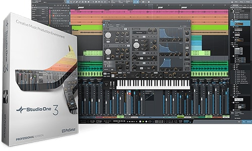 PreSonus Studio One 3 Professional v3.2.1.37177 WIN OSX