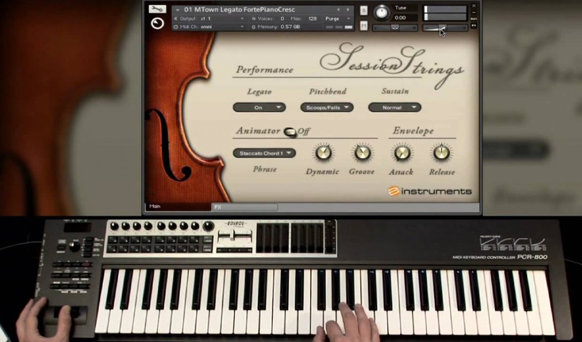 Primesounds Session Strings EXS24 HALiON KONTAKT-DELiRiUM
