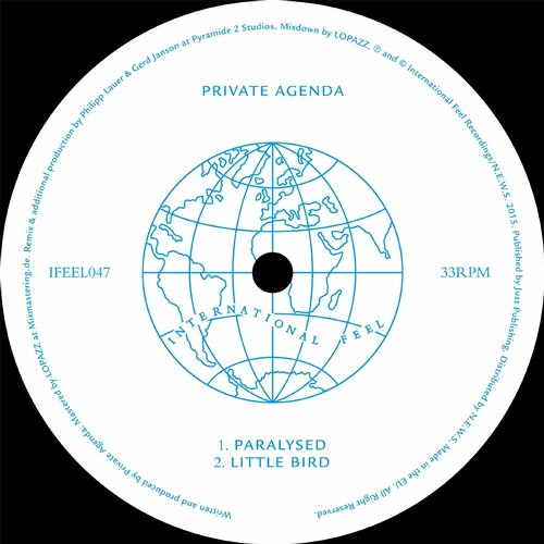 Private Agenda - Paralysed [IFEEL 047D]