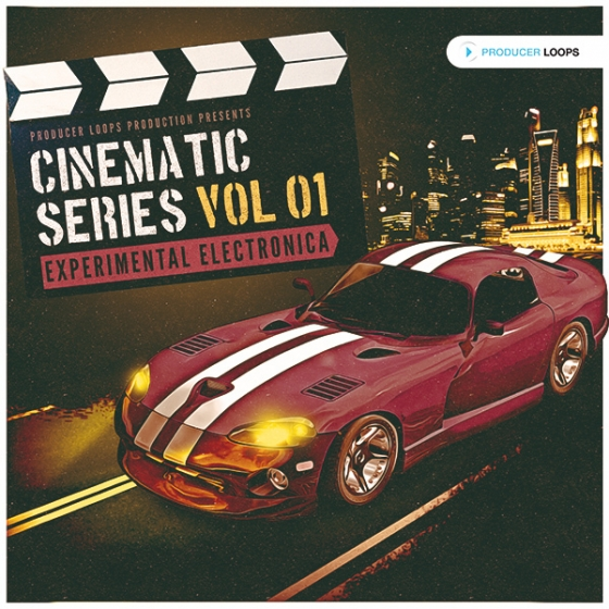Producer Loops Cinematic Series Vol 1 Experimental Electronica MULTiFORMAT DVDR