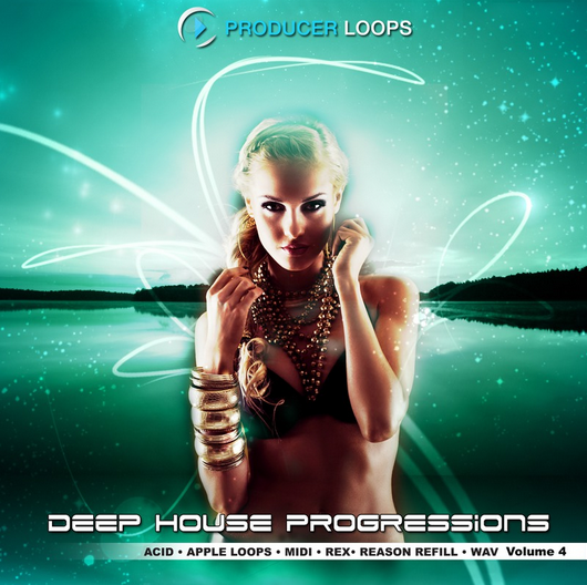 Producer Loops Deep House Progressions Vol.4